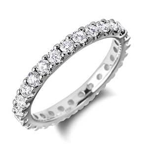 eternity wedding rings for woman - Woman Wedding Ring