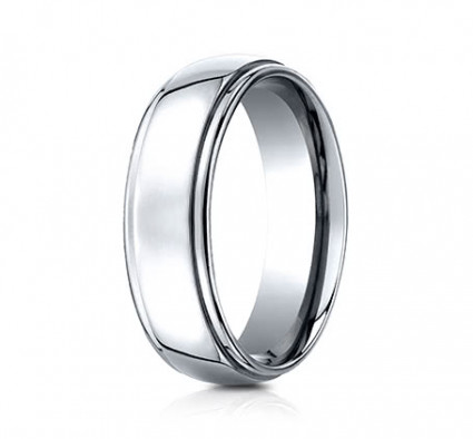7mm Cobalt Ring With High Polish | ACF570CC