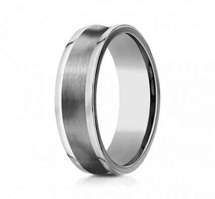 7mm Concave Tungsten Ring | ACF67001TG