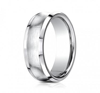 7mm Concave Cobalt Ring | ACF67555CC