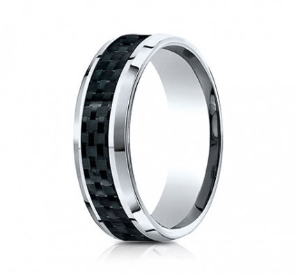 8mm Cobalt Carbon Fiber Ring | ACF68900CFCC