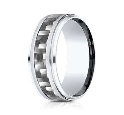 9mm Cobalt Ring With Carbon Fiber | ACF69488CFCC