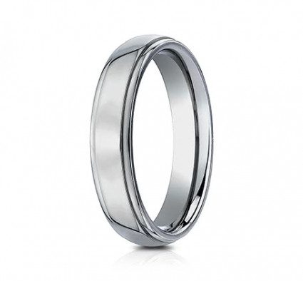 5mm Highly Polished Titanium Ring | ATI550T