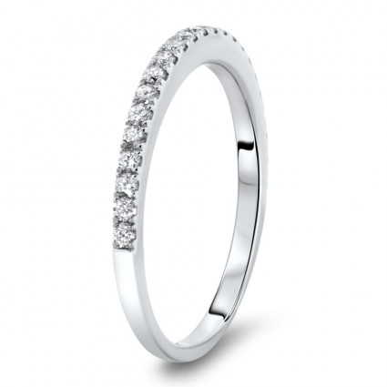 Micro Pave Classic Wedding Band 0.34ct | AR14-234