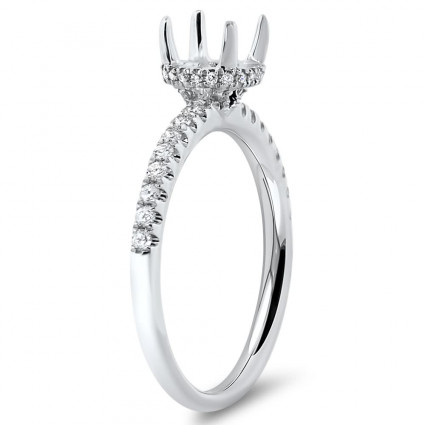 Vintage Halo Engagement Ring for 1 ct Center Stone | AR14-014