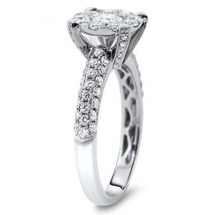 Ladies Diamond Fashion Illusion Ring 1.54ct | AR14-027