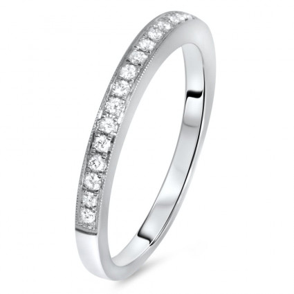 Modern Wedding Band 0.21ct | AR14-239
