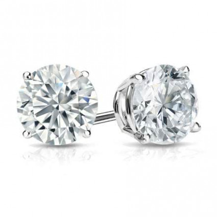 1 ct. tw. Round Cut Diamond Earrings Studs | AE14-017