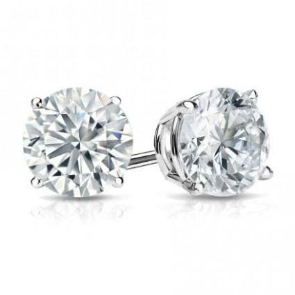 1.05 ct. tw. Diamond Round Cut Earring Studs | AE14-018