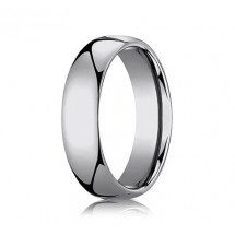 6mm Rounded Tungsten Ring With High Polish