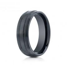 7mm Ceramic Ring With Satin Finish & Beveled Edges | ACF57444CM