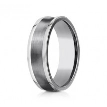 7mm Concave Tungsten Ring