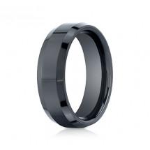 7mm Ceramic Ring with High Polish & Beveled Edge | ACF67426CM