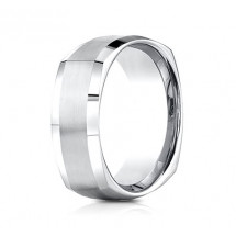 9mm Four-Sided Cobalt Ring | ACF69480CC