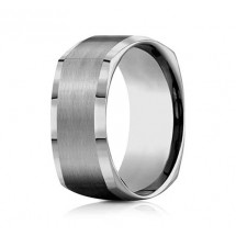 9mm Four-Sided Tungsten Ring