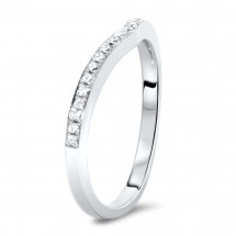 Micro Pave Matching Wedding Band 0.16ct