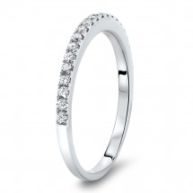 Micro Pave Classic Wedding Band 0.34ct