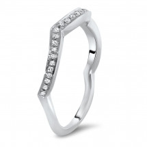 Shadow Matching Wedding Band 0.31ct