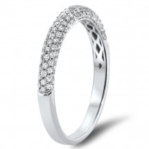 Pave Wedding Band 0.47ct