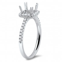 Classic Style Engagement Ring for 1.5 ct Center Stone | AR14-026