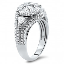 2.2ct Illusion Engagement Ring