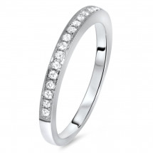 Modern Wedding Band 0.21ct