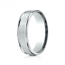 6mm Cobalt Ring With Satin Finish & High Polish | ARECF7602SCC