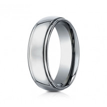 7mm Titanium Ring With High Polish