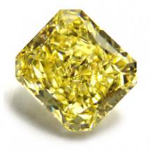 Fancy Intense Yellow 3.05ct Radiant Cut | I16-001
