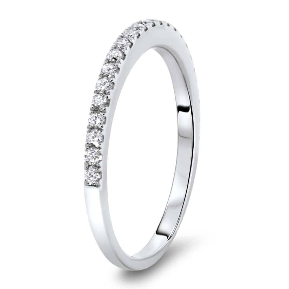 Micro Pave Classic Wedding Band 0.34ct | AR14-234 | Fort Worth ...