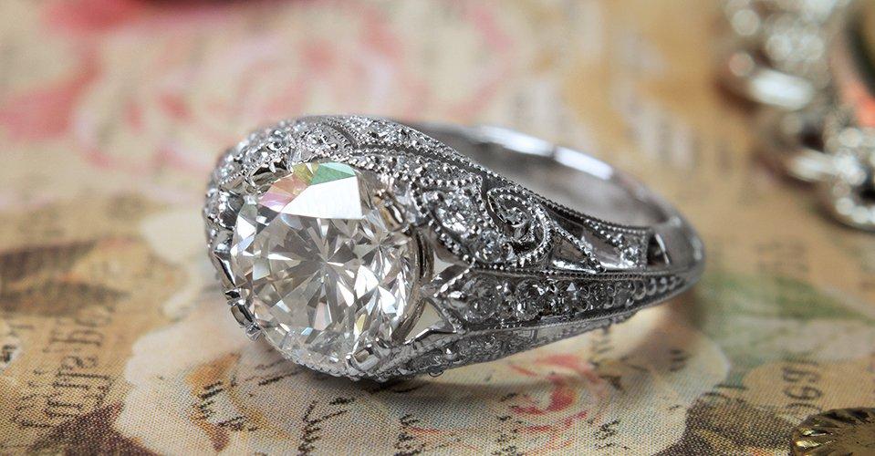 Custom Engagement Ring Dallas